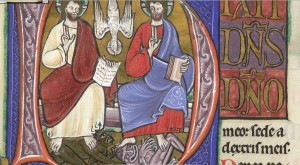 psalm 110 in a psalter bl 1210  initial d