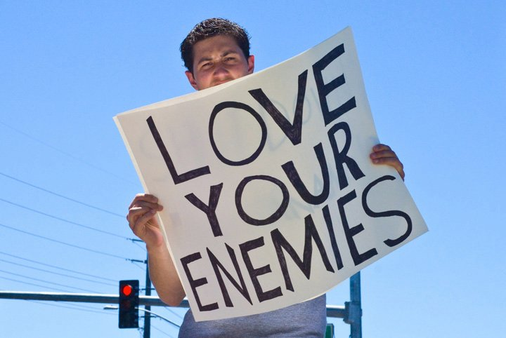 Love Your Enemies: CATCA Tuesday (June 16): Love Your Enemies And Pray For